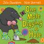 One Mole Digging A Hole